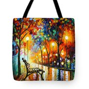 Loneliness Of Autumn Tote Bag