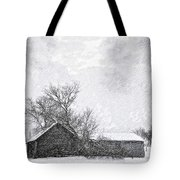 Loneliness Sketch Tote Bag by Steve Harrington