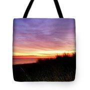 Lonely Beach At Sunrise Norfolk Va Tote Bag