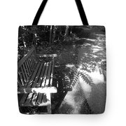 Lonely Bench 5 Tote Bag
