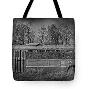 Lonely Bus  Tote Bag