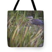 Lonely Heron Tote Bag