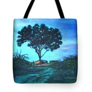 Lonely Giant Tree Tote Bag