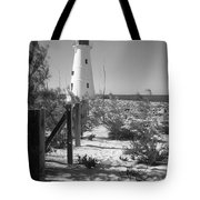 Lonely Light House  Tote Bag