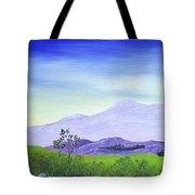 Lonely Mountain Tote Bag by Anastasiya Malakhova