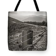 Lonely Mountain Road Tote Bag