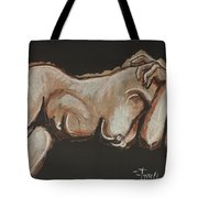 Lonely Night - Nudes Gallery Tote Bag