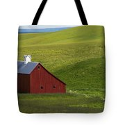 Lonely Red Tote Bag