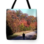 Lonely Road Home Tote Bag
