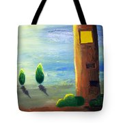 Lonely Tower Tote Bag