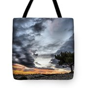 Lonely Tree Tote Bag by Okan YILMAZ