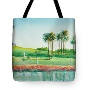 Long Beach Lighthouse Tote Bag