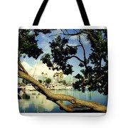 Long Beach Marina Tote Bag