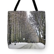 Long Country Road Tote Bag