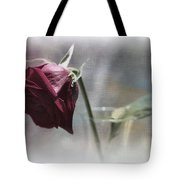 Red Rose Still Life Tote Bag