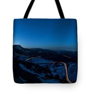 Long Exposure In Serra Da Estrela Portugal Tote Bag