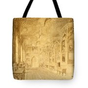 Long Gallery At Strawberry Hill Tote Bag