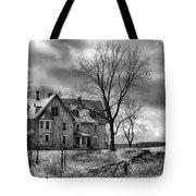 Long Hard Winter Tote Bag