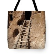 Long House Front Door Bandelier National Monument Tote Bag