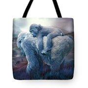 Silverback Gorilla - Long Journey Home Tote Bag