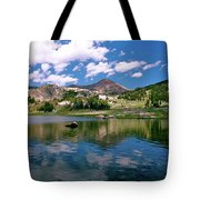 Long Lake Beartooth Pass Tote Bag