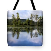 Long Lake Reflection Tote Bag
