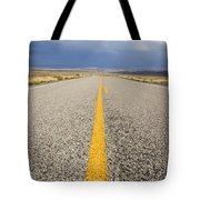 Long Lonely Road Tote Bag