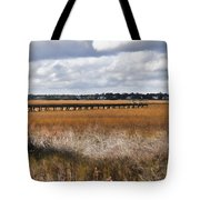 Long Marsh Dock Tote Bag