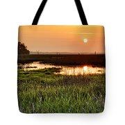 Long Marsh View Tote Bag