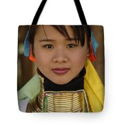 Long Necked Woman Of Thailand Tote Bag