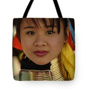 Long Necked Woman Thailand 4 Tote Bag
