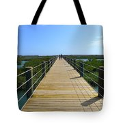 Long St. Augustine Marsh Dock Tote Bag