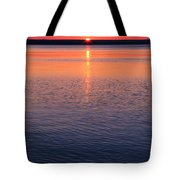 Long Sunset Tote Bag