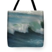 Long Wave Tote Bag