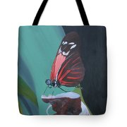 Long Wing Butterfly Tote Bag