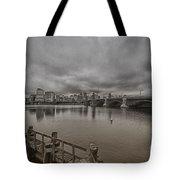 Longfellow Bridge Boston V8 Tote Bag