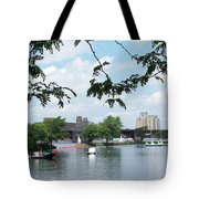 Longfellow From Lagoon Tote Bag