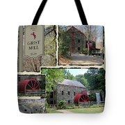 Longfellow's Grist Mill Tote Bag by Patricia Urato
