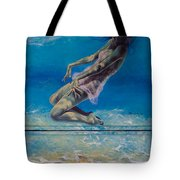 Longing From The Depths Tote Bag by Dorina  Costras
