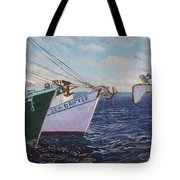 Longliners Achor To Anchor Tote Bag
