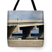 Longport Bridge Tote Bag