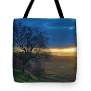Longshaw Sunset Tote Bag