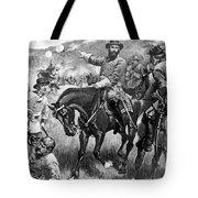 Longstreet At Gettysburg Tote Bag