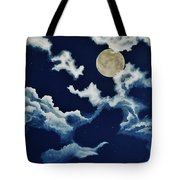 Look At The Moon Tote Bag