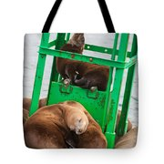 Look At The One In The Middle Tote Bag