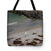 Look Back Bird Tote Bag