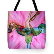 Look Better Naked Margarita Tote Bag