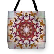 Look Into The Center Tote Bag