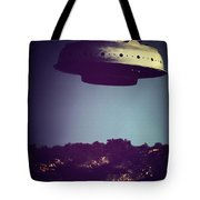 Look... It's A Flying Saucer Tote Bag