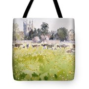 Looking Across Christ Church Meadows Tote Bag